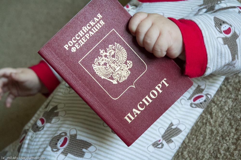 ребенку подали на гражданство как