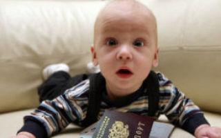 Оформление гражданства новорожденному: документы, процедура
