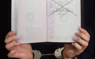 Уголовная ответственность за фиктивную регистрацию иностранных граждан