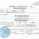 Какие документы нужны для получения гражданства РФ ребенку