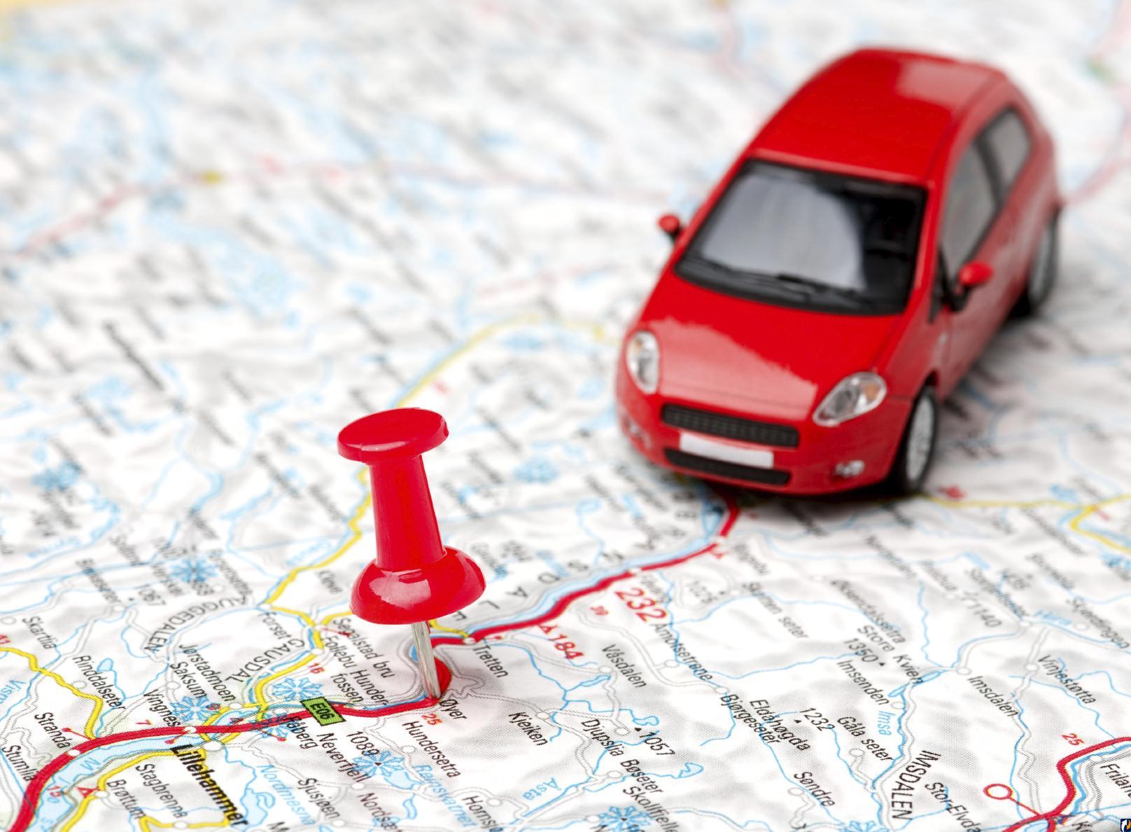 Пересечение границы на автомобиле