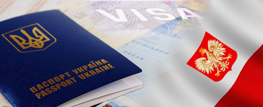 Паспорт и флаг Польши