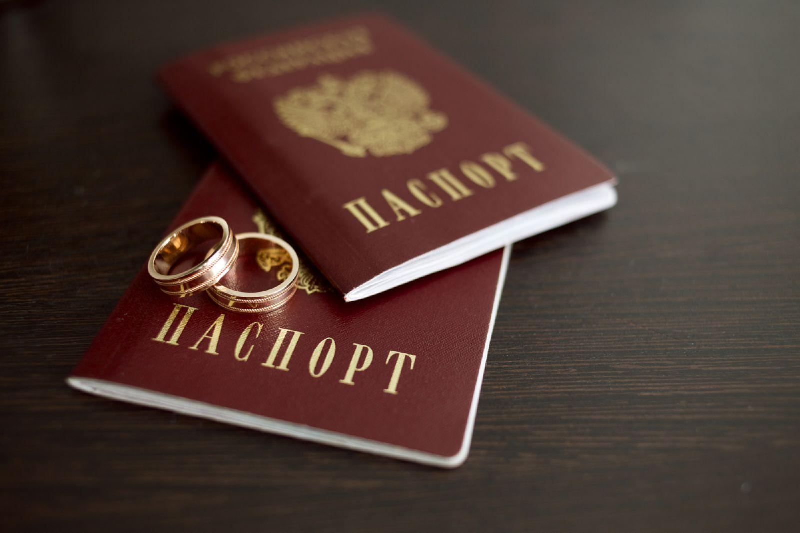 сколько стоит поменять паспорт при разводе